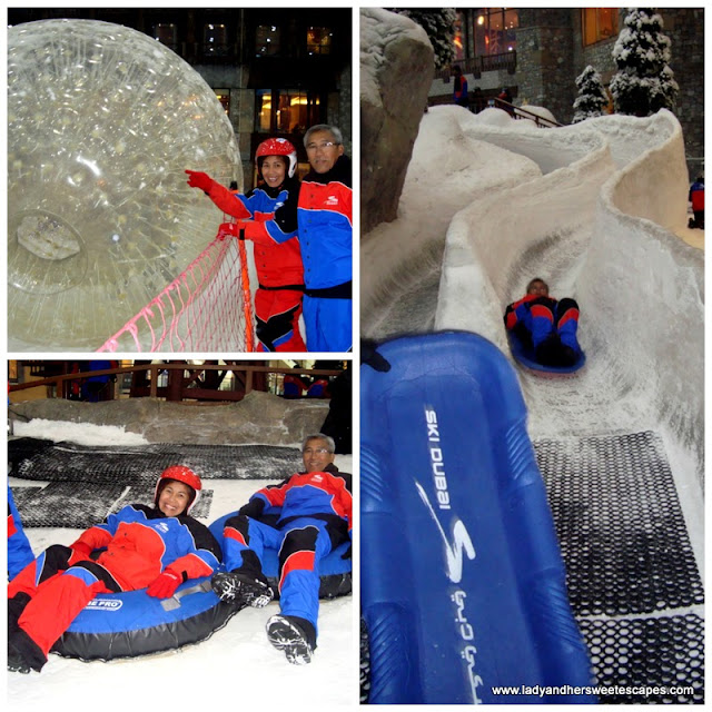 adrenaline-rushing activities at Ski Dubai's Snow Park