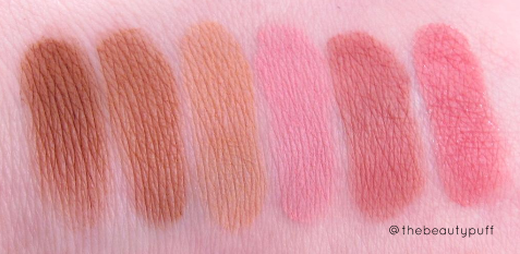 jing ai vienna charm cheek rouge swatches - the beauty puff