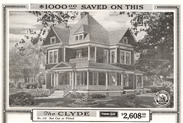 Sears Clyde model in 1918 catalog