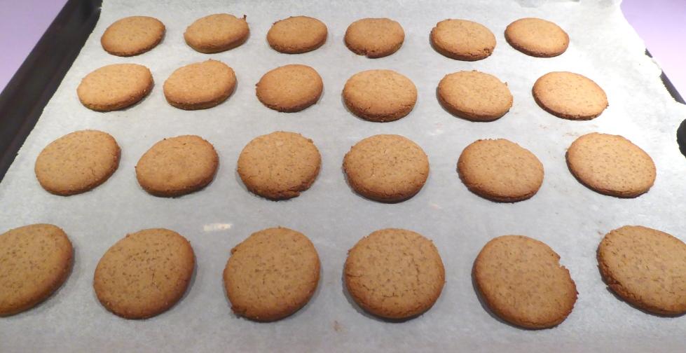 Sablés sans gluten à la farine de châtaigne