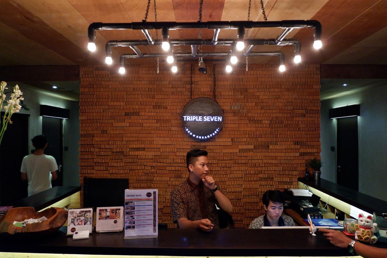 hotel review triple seven bandung