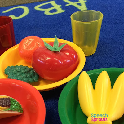 The materials SLPs need for preschool speech therapy plus 10 thrifty tips on how to get them for cheap. www.speechsproutstherapy.com  #speechsprouts #speechtherapy #preschool  #speechtherapymaterials #speechtherapytoys