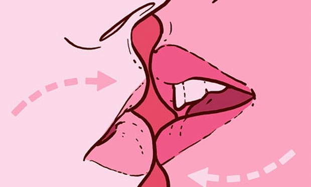 How to kiss properly with tongue
