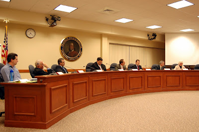 Town Council candidates in 2013 at the Candidates Night