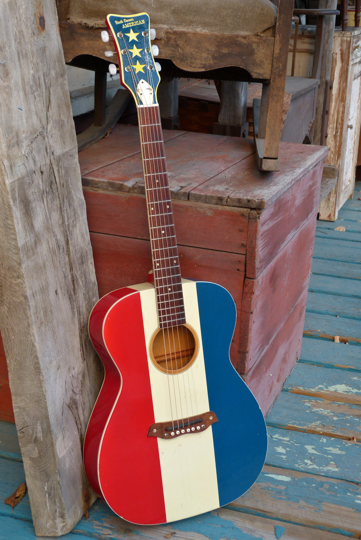 1970 Harmony Buck Owens Flattop Guitar