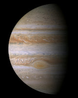 Jupiter seen by Cassini spacecraft