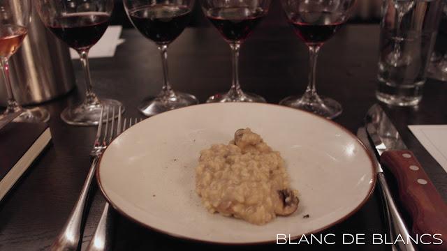Risotto ja Chianti Classico Riserva - www.blancdeblancs.fi