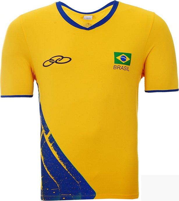 Olympikus divulga as camisas do vôlei para o Rio 2016 - Show de Camisas c4e53631c056d