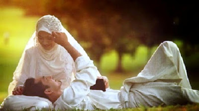 Ilustrasi suami istri bunda imaz
