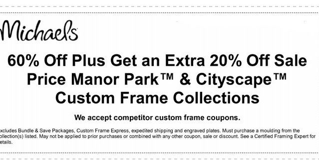 michaels printable coupons july 2017 info coupons 2017 - Michaels Framing Coupon
