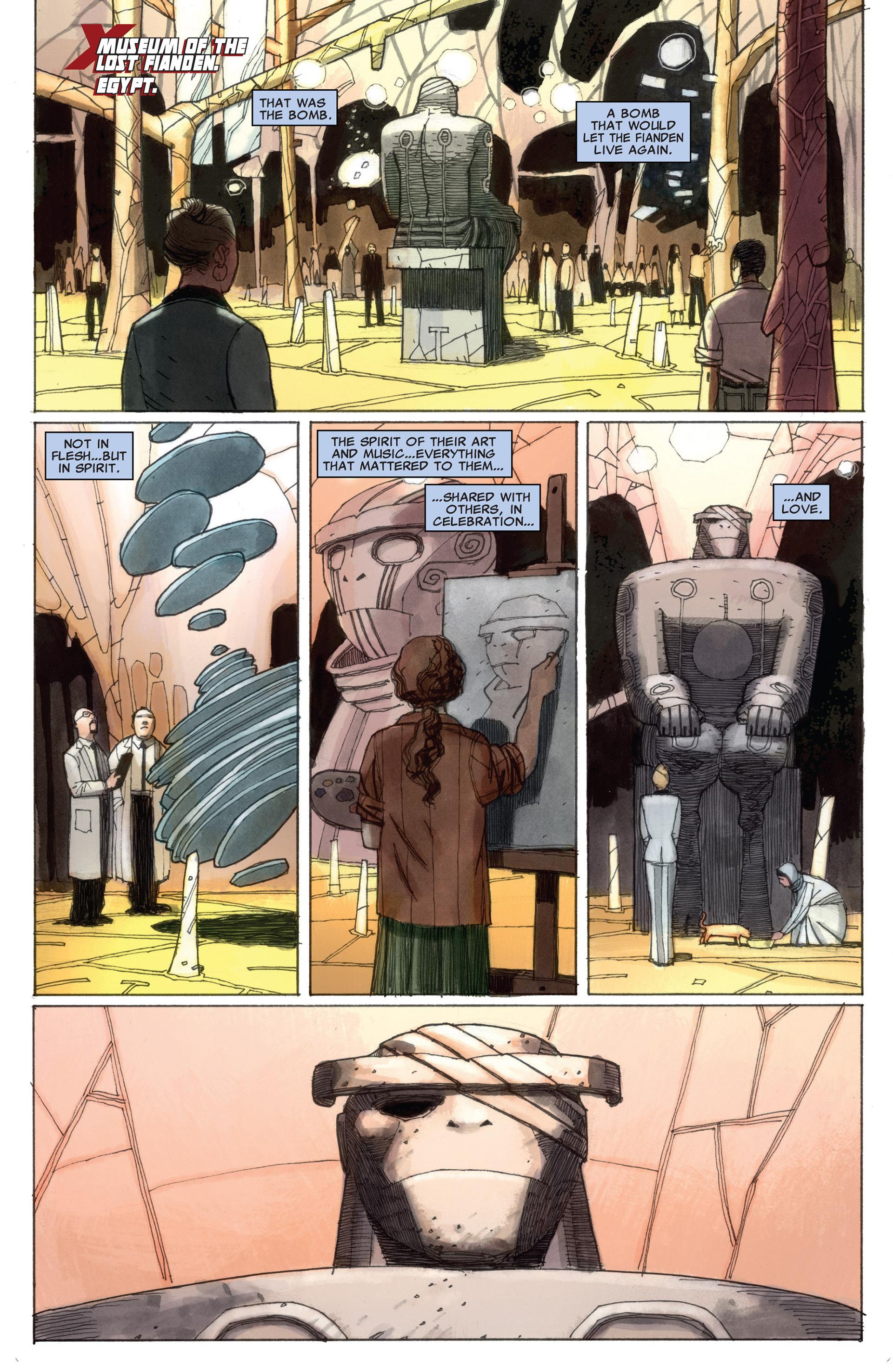 Read online Astonishing X-Men (2004) comic -  Issue #58 - 21