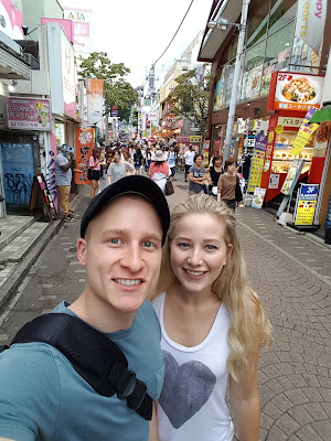 Married Couple Harajuku Tokyo