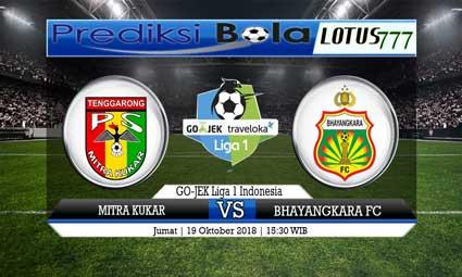 PREDIKSI MITRA KUKAR VS BHAYANGKARA FC 19 OKTOBER 2018