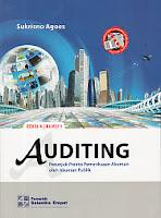 Judul : AUDITING (Petunjuk Praktis Pemeriksaan Akuntan oleh Akuntan Publik), Buku 1 Pengarang : Sukrisno Agoes Penerbit : Salemba Empat
