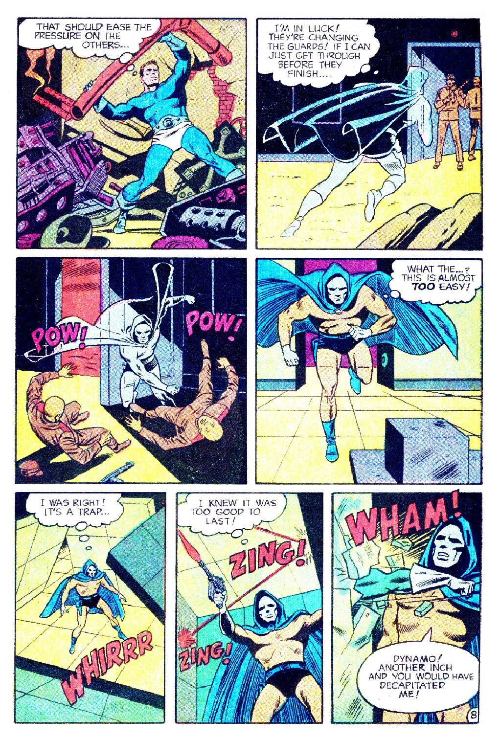 T.H.U.N.D.E.R. Agents (1965) issue 9 - Page 50