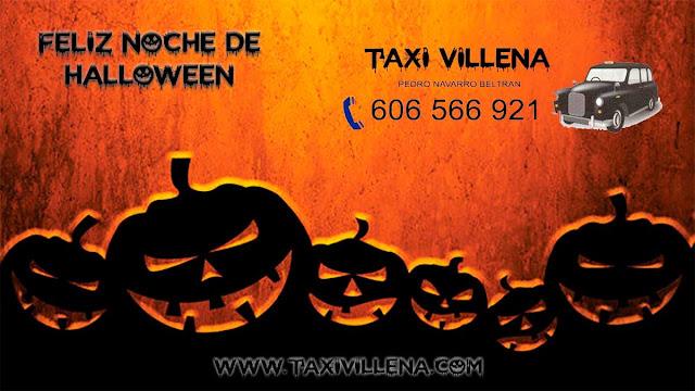 Taxi Villena Halloween