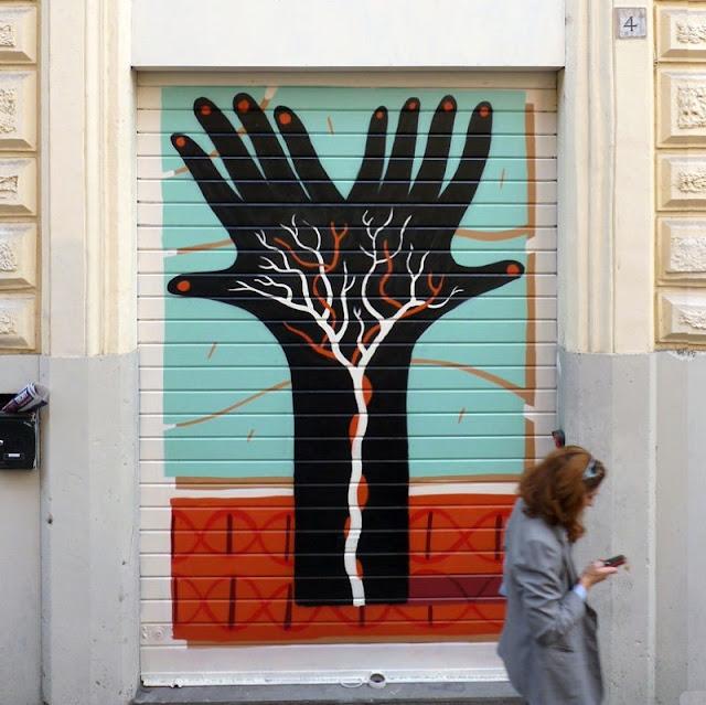 Уличный художник из Италии. Агостино Якурчи (Agostino Iacurci) 15