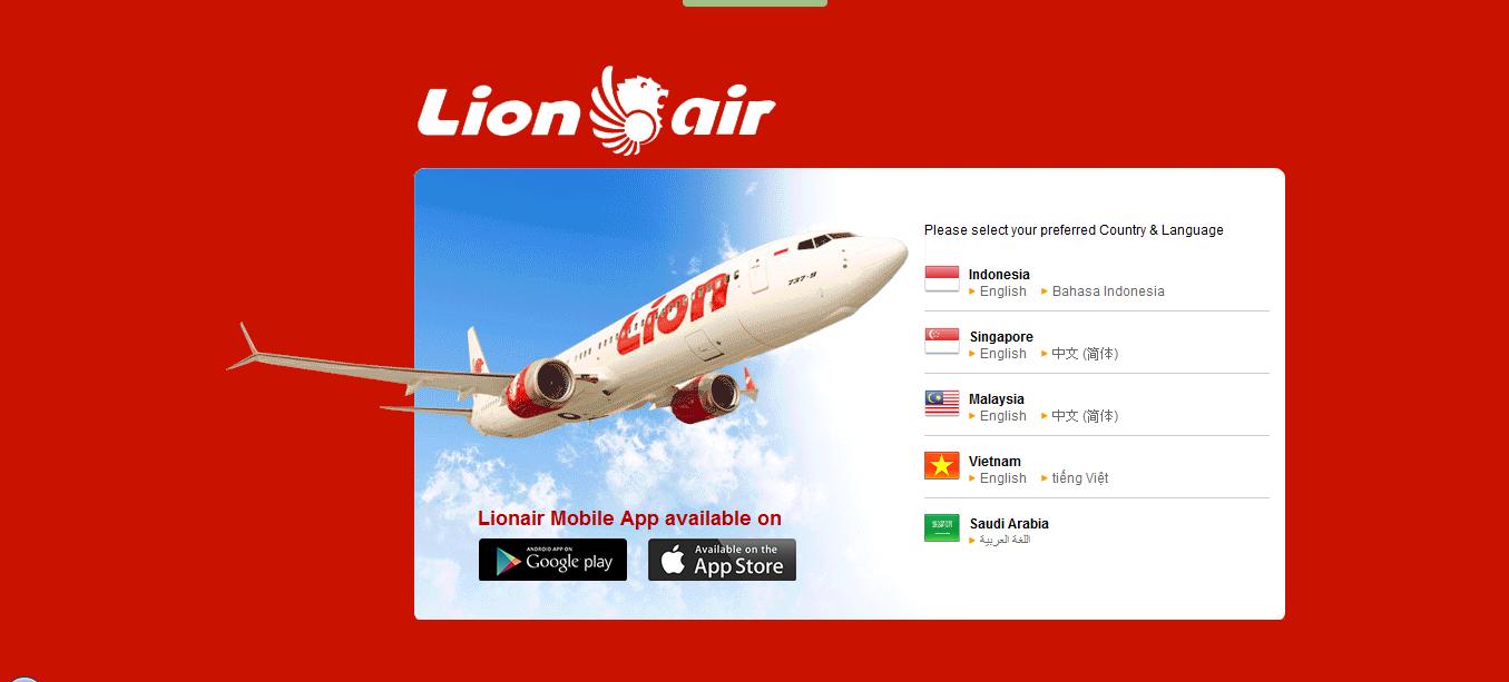 Tiket Pesawat Reservasi Hotel Perjalanan Wisata Tips Cek In Online Pesawat Lion Air