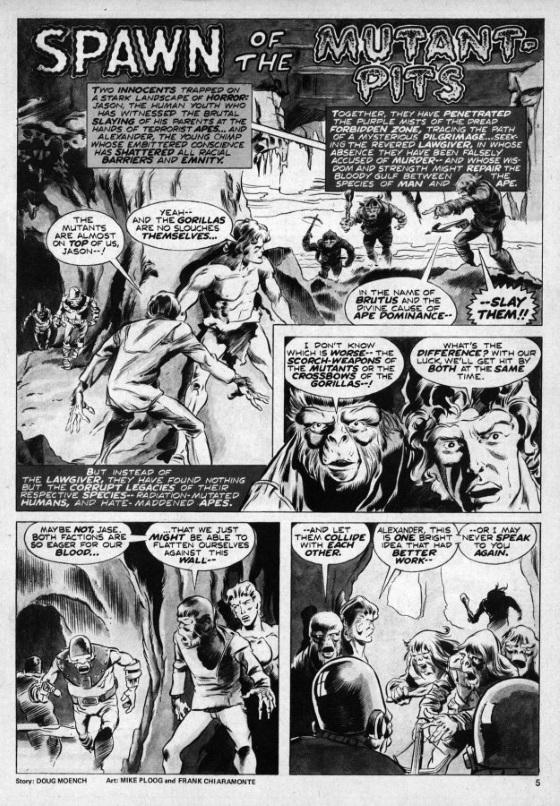 Archivos El Planeta de los Simios Vol. 1: Terror en el Planeta de los Simios