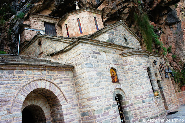 Proussos Monastery Central Greece Attractions