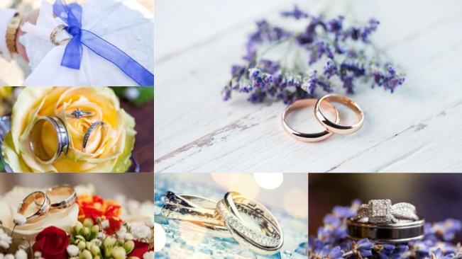 تحميل 6 صور عالية الجودة لخواتم الزفاف