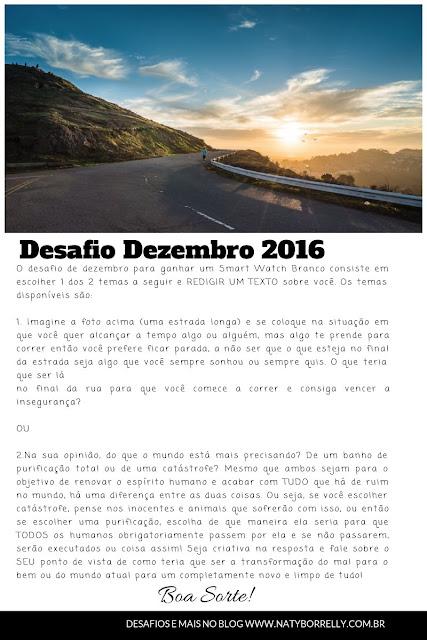 Desafio de Dezembro 2016