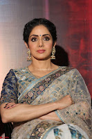 Sri Devi in designer saree stunning beauty at the launch of MOM movie Trailer~  Exclusive 078.JPG