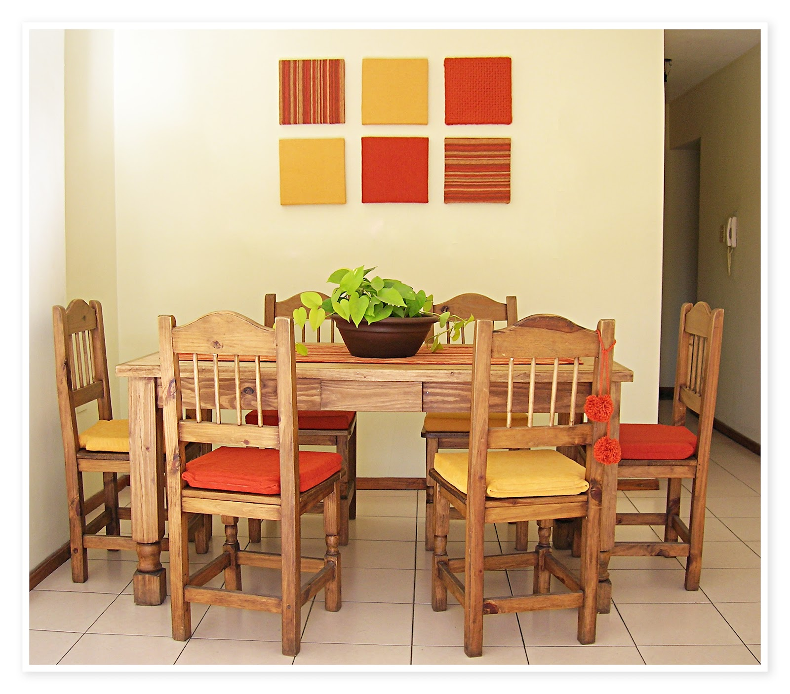 Comedor r stico for Decoracion de comedores rusticos