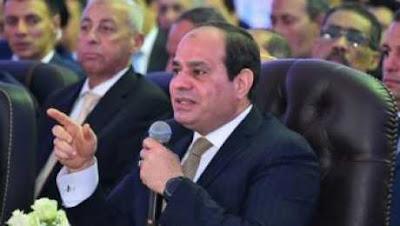 اول تعليق من الرئيس السيسي علي اعلان مصر الحرب اليوم علي الارهابيين في سيناء
