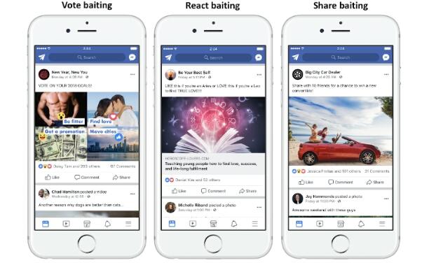 Facebook Menghukum Postingan Clickbait