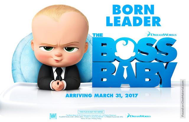 CINE ΣΕΡΡΕΣ, The Boss Baby (2017), Tom McGrath, Alec Baldwin, Steve Buscemi, Jimmy Kimmel,