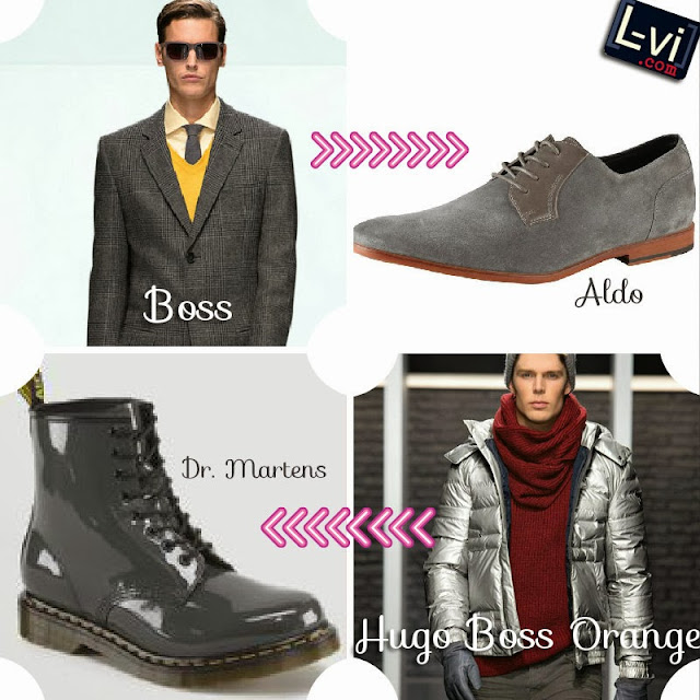 Gray to silver. AW13 Trends for men by LuceBuona