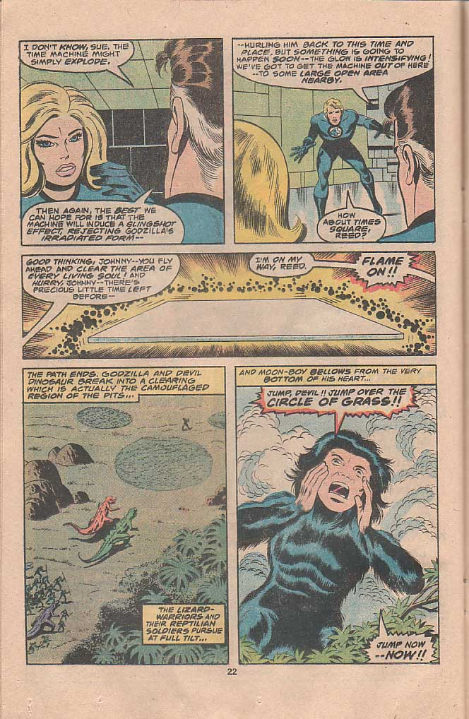 Godzilla (1977) Issue #22 #22 - English 13
