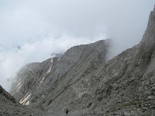 Widok w kierunku szczytu Skala.