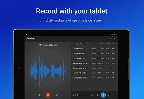 aplikasi perekam suara seperti di studio di android