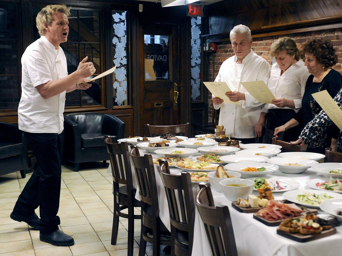 Kitchen Nightmares - season 4