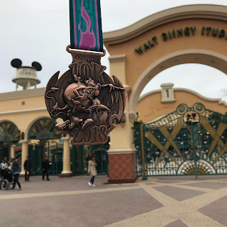 Disneyland Paris Magic Run 2018 Medaille 10K