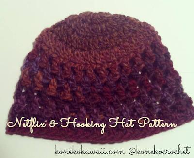 Netflix & Hooking Hat -- Free Crochet Pattern