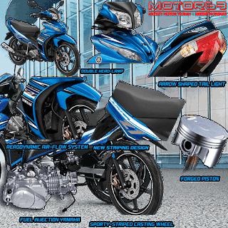 Fitur dan Spesifikasi Yamaha Jupiter Z CW FI
