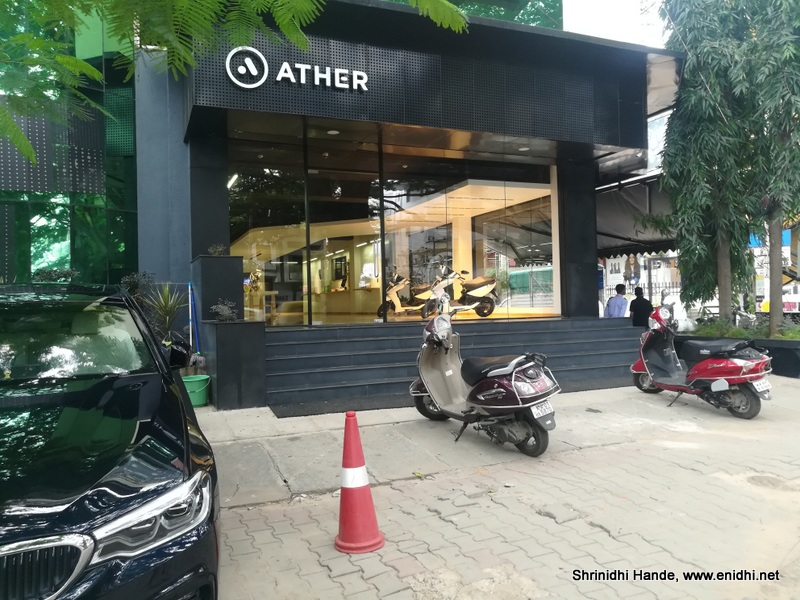 Ather Energy 450 electric scooter: Experience & Review - eNidhi