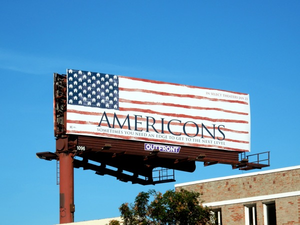 Americons 2015 movie billboard