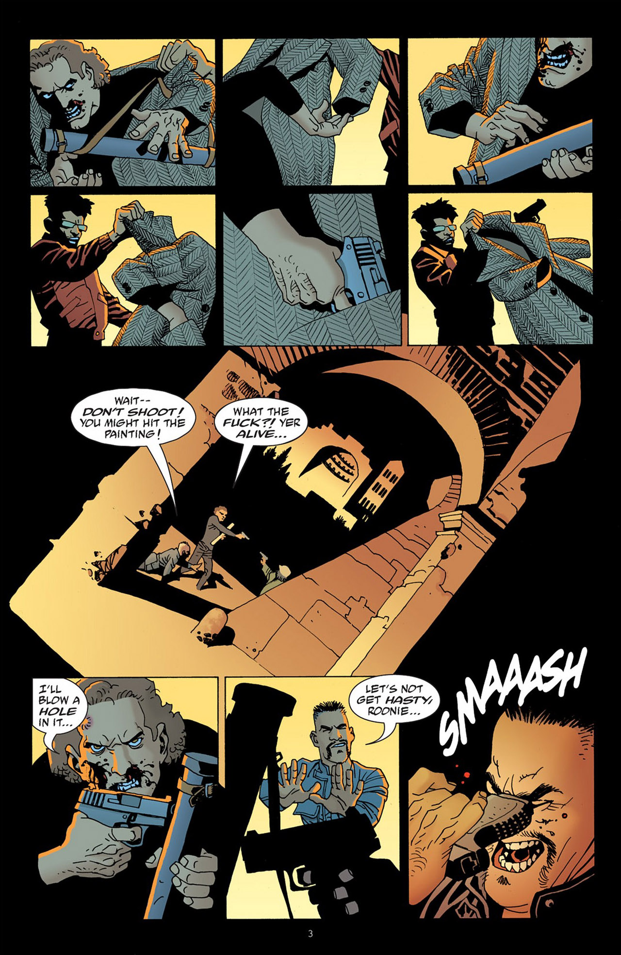Read online 100 Bullets comic -  Issue #83 - 4