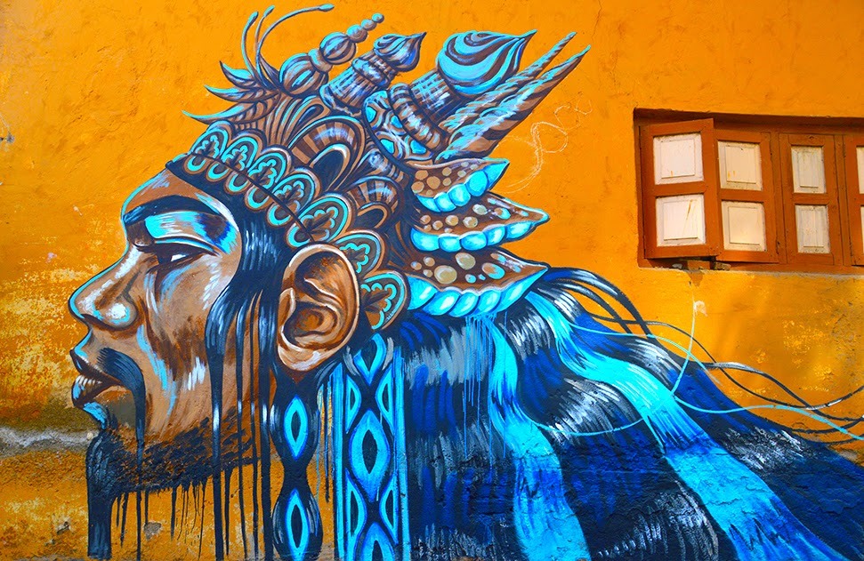 Pune Street Art Project Mural by Kelly Daragh Kasba Peth