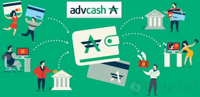 advcash advanced cash payment pagamento processador dinheiro