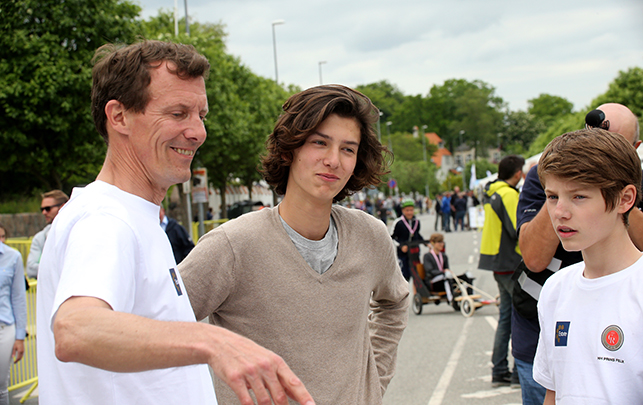 The Royal Children: Danish RF: Princes Henrik, Felix and ...