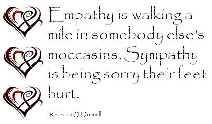 Should You Feel Empathy or Sympathy? Or… ? | CustomerThink