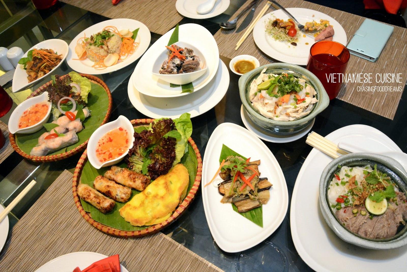 chasing food dreams link pullman kuala lumpur bangsar authentic vietnamese buffet promotion. Black Bedroom Furniture Sets. Home Design Ideas