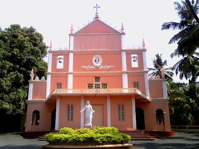 Kodialbail Church located in Kodialbail opposite Karnataka Bank at Mangaluru