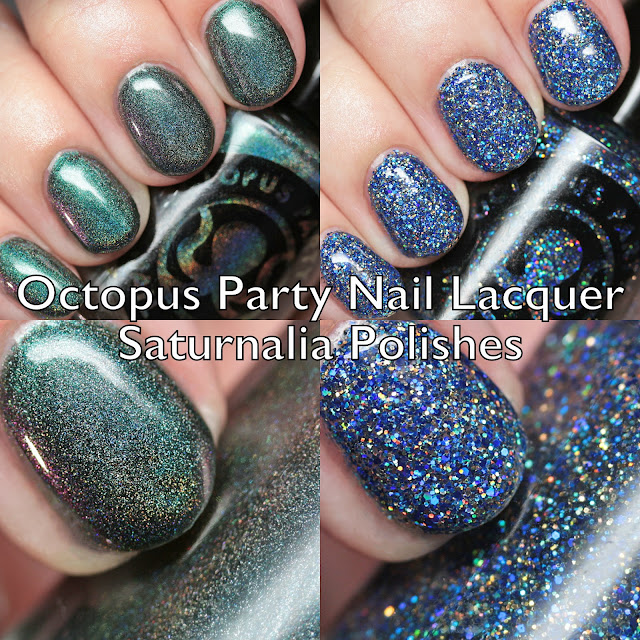 Octopus Party Nail Lacquer Saturnalia Polishes