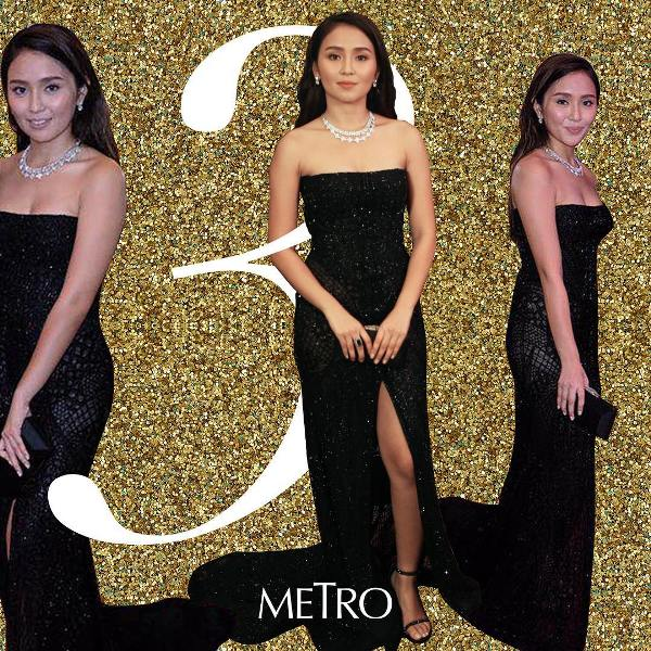 Star Magic Ball Best Dressed Woman Kathryn Bernardo